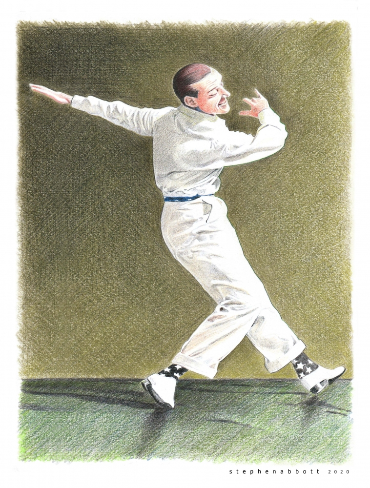 Fred Astaire by Henstepbatbot